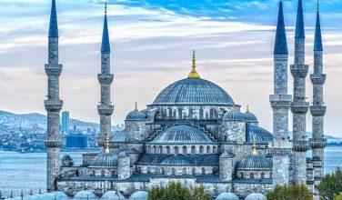 Blue Mosque Sultan Ahmet Camii, Istanbul Turkey