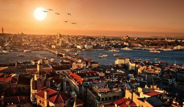 Golden Horn (Halic) Istanbul, Turkey